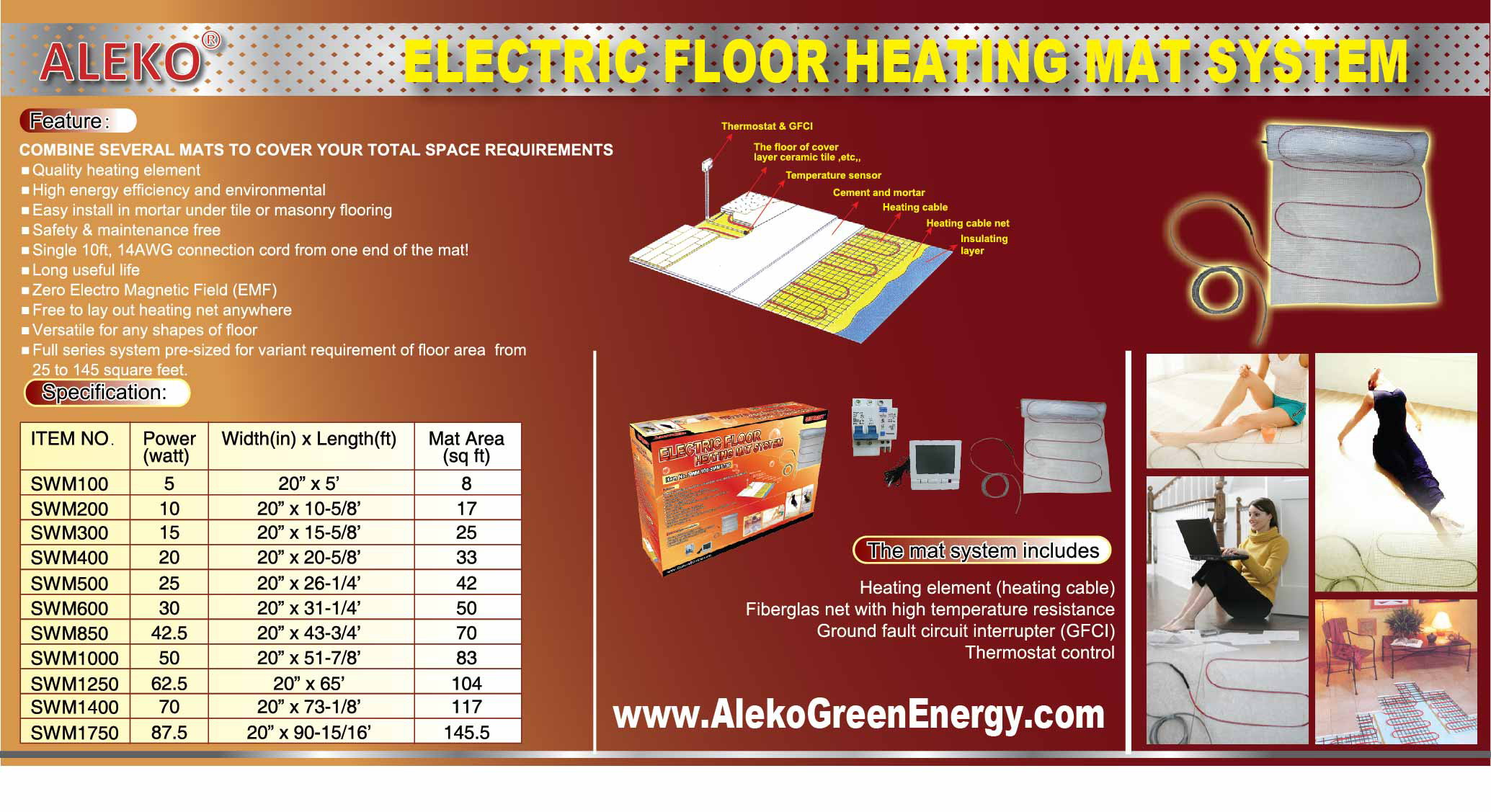 Electric Radiant Floor Heating Systems Under Carpet Carpet
