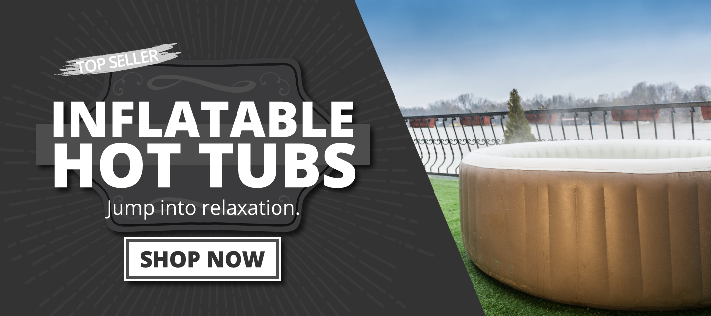 inflatable hot tubs for any season.